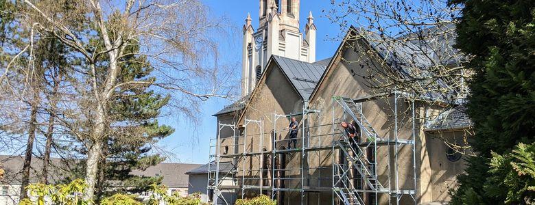 Spendenaktion Fassadensanierung
